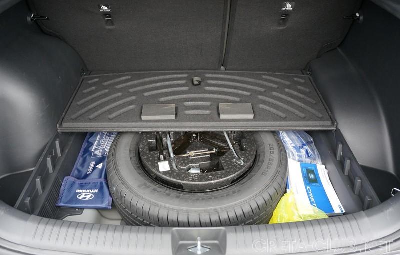 мало хендай туксон вид багажника где запаска фото нет такого