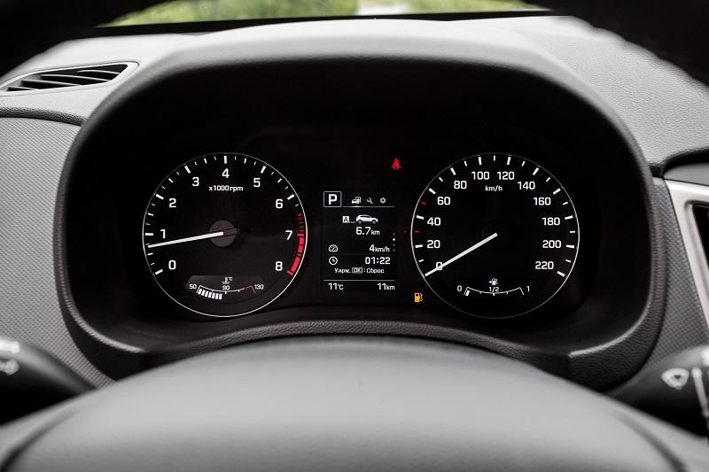 Hyundai Creta панель приборов
