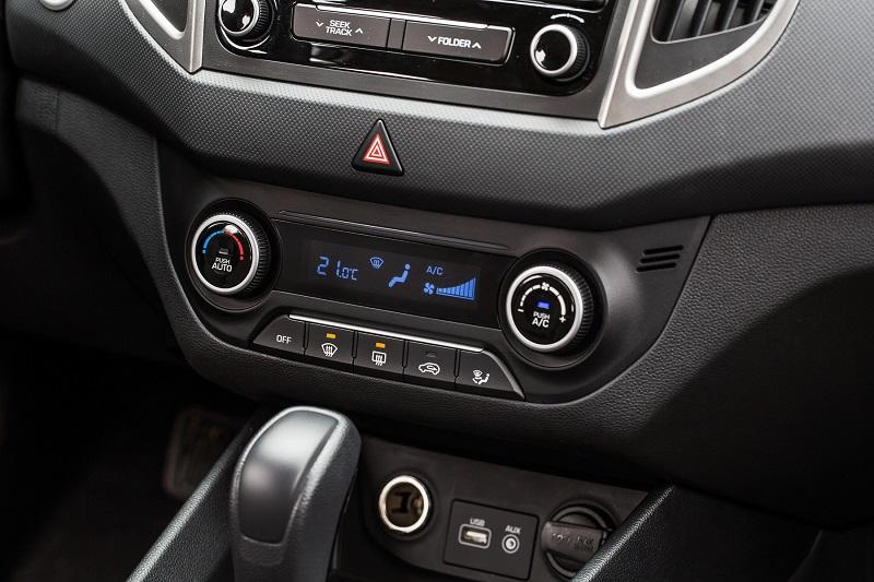 Hyundai Creta фото передней панели