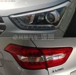 Передняя фара и задний фонарь серийного образца Hyundai Creta